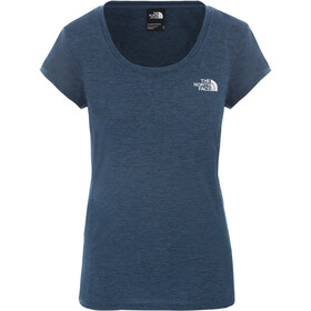 The North Face Hikesteller II T-shirt Dames, blue wing teal light heather